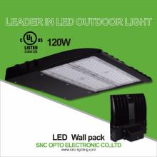 Alta qualidade 120 w conduziu a luz do bloco da parede / ul levou pacotes de parede ao ar livre da parede / UL levou wallpack