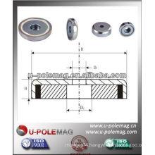 high performance NdFeB Pot Magnets-B