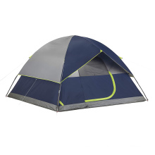 CAMP 2 or 3 Person Camping Dome Tent with Carry Bag, Lightweight Waterproof Portable Backpacking Tent for Outdoor Camping Hiking