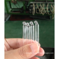 Clear Tubular Curved Glass Pipette for Essential Oil Packing