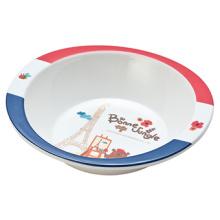 Melamine France Bear Series Kids′ Salad Bowl (FB12114)