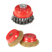 Factory price professional steel wire brush for cleaning grime