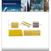 Escalator Comb Plate, escalator comb plate for escalator parts