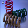 Custom metal seats compress springs