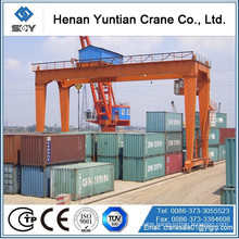 Container yard used crane , Rail Mounted Container Gantry Crane with CE