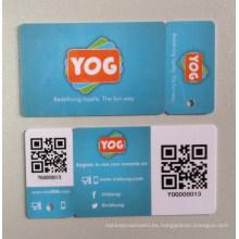 Offest de impresión de código de barras / banda magnética / Metal VIP Card