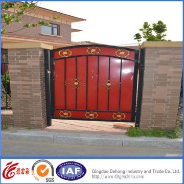 Porte de garde décorative simple de haute qualité