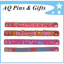 Customized Soft PVC Rubber Wristband