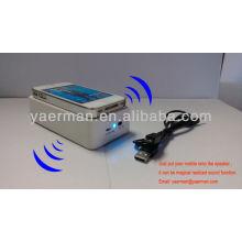 Индукционный мобильный динамик, двойной мини-динамик сабвуфера