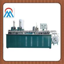 3 eixos CNC escovas tufting máquina para a produção de escova de molas, escova de tira, escova de elevador, escova da porta