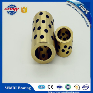 Excellent Wear Resistance Self Lubricating Flanged Brass Bearing