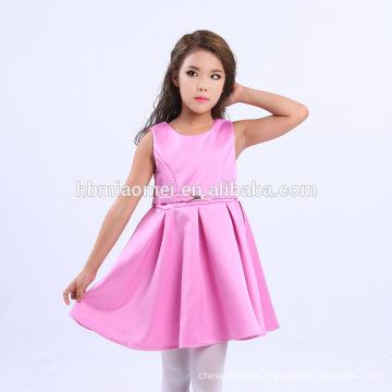 2017 wholesale baby girls new style flower girl dress muslim