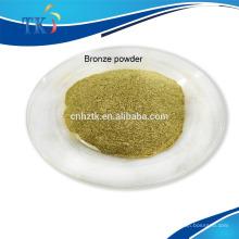Usado para tinta Pálida ouro bronze em pó / pigmento metálico bronze cobre em pó