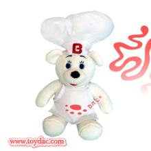 Plüsch Werbeartikel Spielzeug Chef Bär