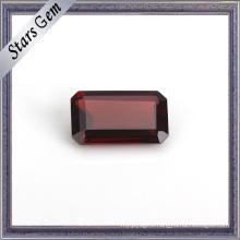 Octagon Emerald Cut Natural Garnet Gemstone for Gift