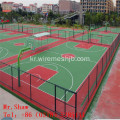 마당 보호를위한 PVC Coted Chain Link Fence