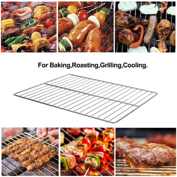 304 Stainless Steel Grill Grates Multifunction Cooking Racks