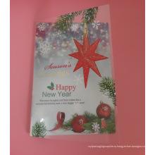 Персонализированные пластиковые поздравительные открытки (фестивальная карточка)