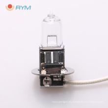 h3 12v 55w car/auto halogen bulb with pk22s h3 bulb