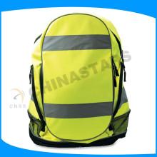 Paquet de sac réfléchissant jaune avec ruban réfléchissant