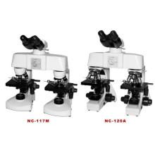Comparación del microscopio (NC-117M)