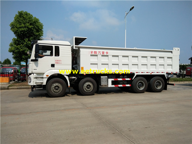 336hp Sand Carrying Tipper Trucks