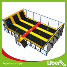 Parque interno do trampolim de Dodgeball do profissional de China