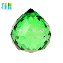 20mm Chandeliers Green Crystal Ball Prisms Feng Shui Ball