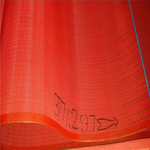 red forming spunbond belt