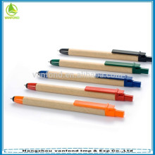 New arrival promotional recycled paper touch pen