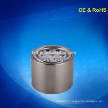 Taille découpée 130 mm montée sur la surface LED plafond lumière lampe moderne suspendue