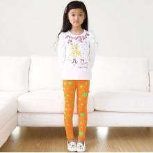 OEM 2015 Gute Qualität Breathable Star gedruckte Kinder Leggings
