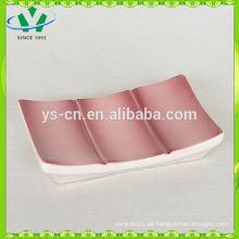 Diseño de bambú jabón de cerámica