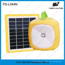 Luz solar recargable del LED de la batería solar de litio portátil 3.7V / 2600mAh con la carga del teléfono para la habitación