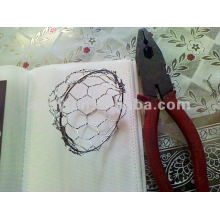 fish cage (Hexagonal wire mesh or chain link mesh)