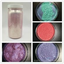 Pigmento pearlescent da classe cosmética pigmento perolado usado no batom