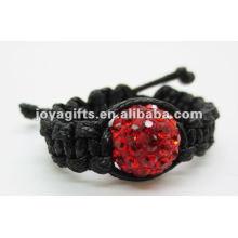 Anéis de moda shamballa jóias