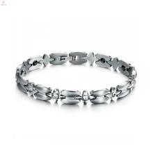 Vente chaude bracelet de connexion croisée, bracelet en acier inoxydable Mesdames