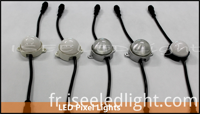 LED Pixel Lights with Waterproof Connector