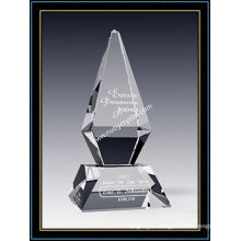 Crystal Award Excellence Award 10 Inch Tall (NU-CW771)