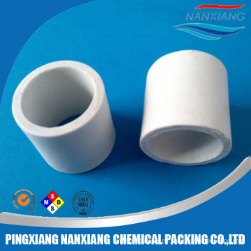 Absorbing tower chemical packing Anillo de cerámica Raschig