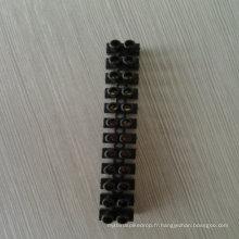 15A Bloc de jonction Couleur noire