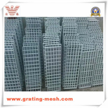Caillebotis en acier galvanisé de barre de métal pour la plate-forme