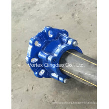 Restrained Flange Adaptor for HD -PE Pipes