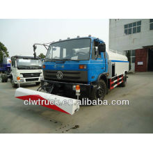 Dongfeng 190hp watering cart with high-pressure cleaning truck