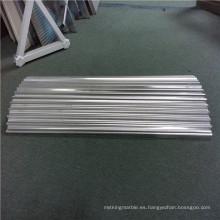 Coronas de aluminio corrugado y paneles de aluminio corrugado