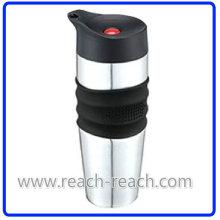 100% Stainless Steel Leak Proof Car Mug, Travel Mug (R-2334)