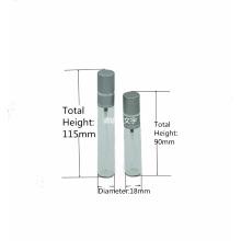garrafa de vidro tradicional do pulverizador da névoa do pescoço 10ml 15ml do friso para o perfume