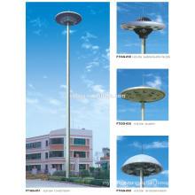Q235B,Q345B electric transmission high mast steel pole factory price
