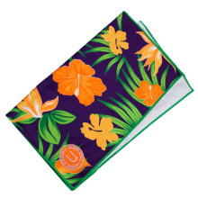 embroidery print microfiber waffle golf towels with custom logo grommet and hook
